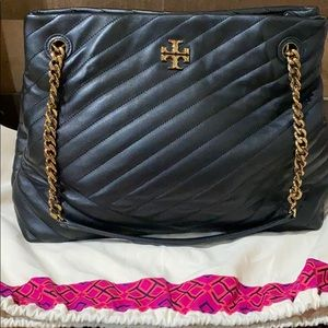Tory Burch : Kira Chevron Quilted Leather Tote